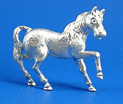 Miniature Metal Prancing Horse (Image1)