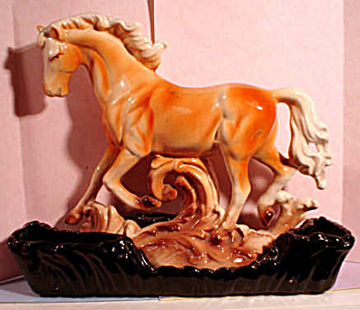 1952 Lane Ceramic Horse Planter (Image1)