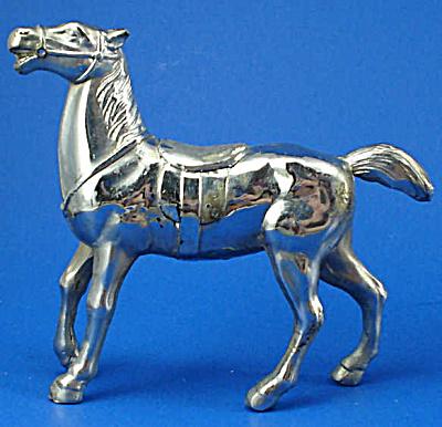 1940s/1950s Metal Horse Figure (Image1)