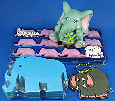 Assorted Collectible 1980s Elephant Stuff