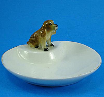 Miniature Bone China Cocker Spaniel on Pintray (Image1)