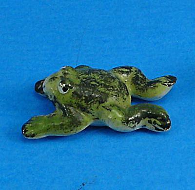 Tiny Bone China Miniature Frog (Image1)