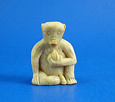 Carved Soapstone Monkey (Image1)