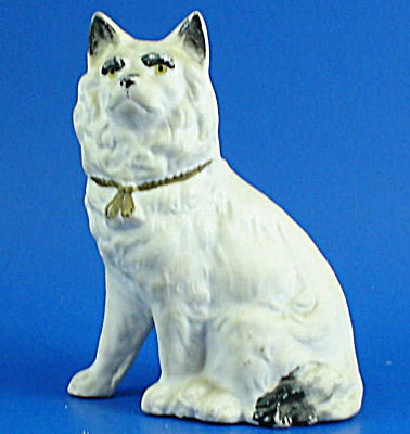 1920s/1930s Bisque Porcelain Dog Figurine (Image1)