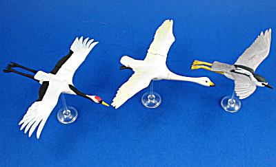 Kaiyodo Furuta Choco Egg Miniature Birds, 3 pieces (Image1)