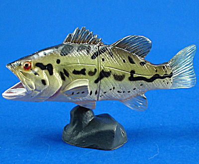 Kaiyodo Furuta Choco Egg Miniature Largemouth Bass