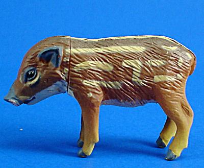 Kaiyodo Furuta Choco Egg Miniature Wild Pig Baby (Image1)