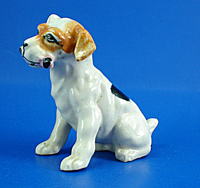 1950s Japan Ceramic Terrier With Bone