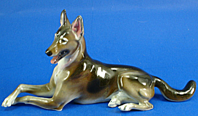 Rosenthal Porcelain German Shepherd Dog