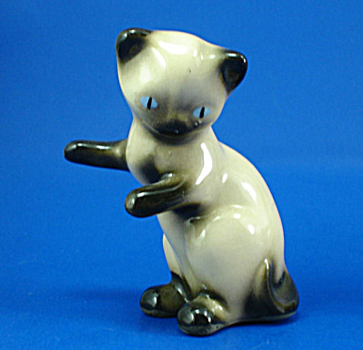 Robert Simmons Pottery Siamese Kitten (Image1)