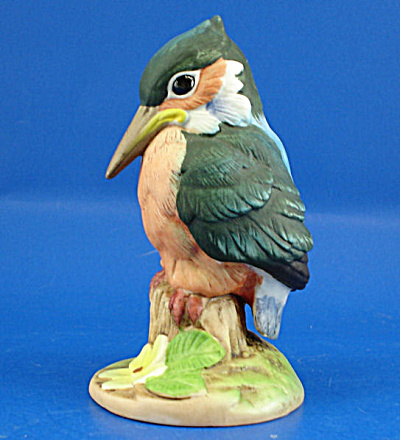 Andrea By Sedak Porcelain Kingfisher Bird