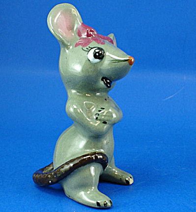1950s Pottery Mouse (Image1)