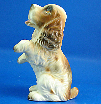 Lefton Ceramic Begging Cocker Spaniel (Image1)