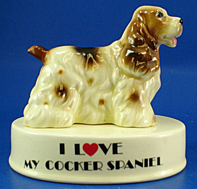 George-good Ceramic Cocker Spaniel