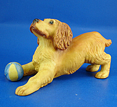 Franklin Mint Porcelain Cocker Spaniel (Image1)