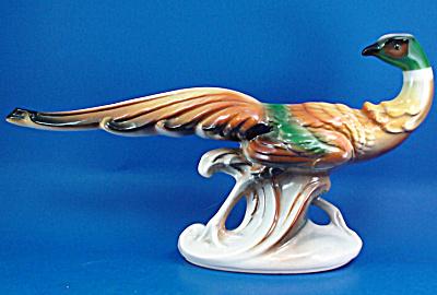 1940s/1950s Pottery Pheasant (Image1)