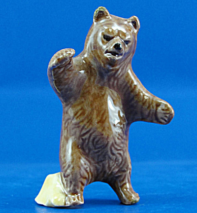 Hobby Ceramic Miniature Bear