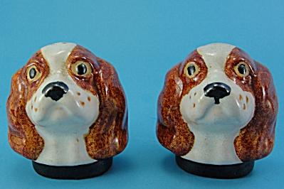 Rosemeade Pottery Spaniel S/P Shaker Set (Image1)