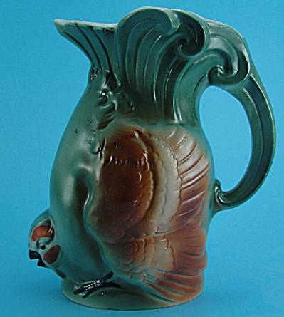 Small German Porcelain Quail Pitcher (Image1)