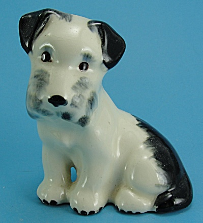 Robert Simmons Pottery Sitting Terrier (Image1)
