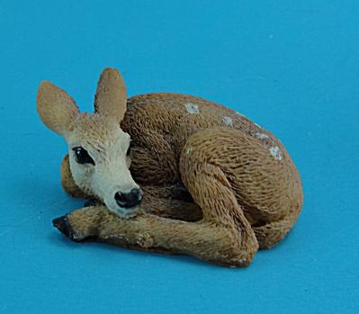 Castagna Miniature Lying Deer (Image1)