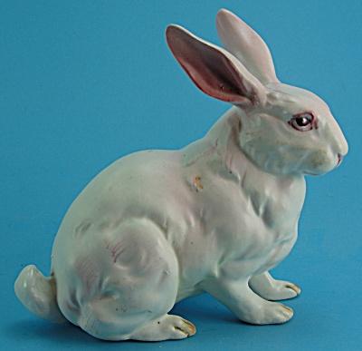 Lefton Pink Bunny Rabbit (Image1)