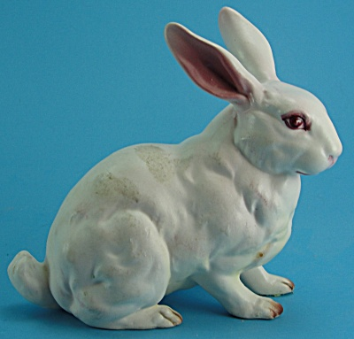 Lefton Pink Bunny Rabbit (Image1)