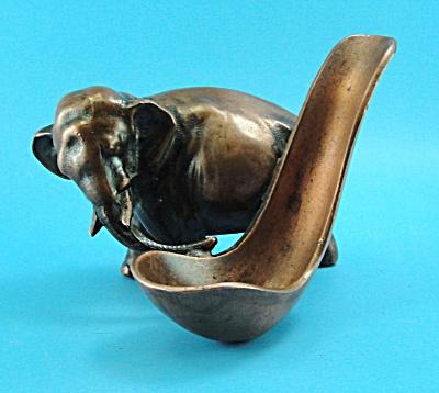 Unmarked Vintage Metal Elephant Piperest (Image1)