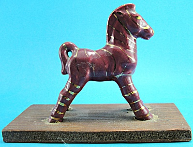 1940s Grindley Ware Pottery Zebra (Image1)