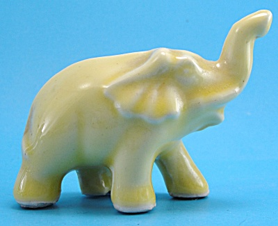 Morton Pottery Yellow Elephant