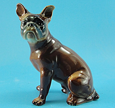 German Porcelain Sitting Bull Terrier (Image1)