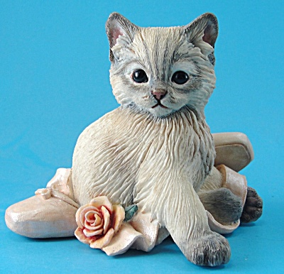 Country Artists Kitten with Ballet Slippers (Image1)