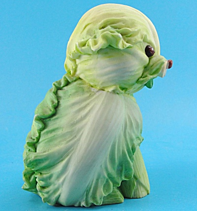 Enesco Home Grown Resin Cabbage Dog