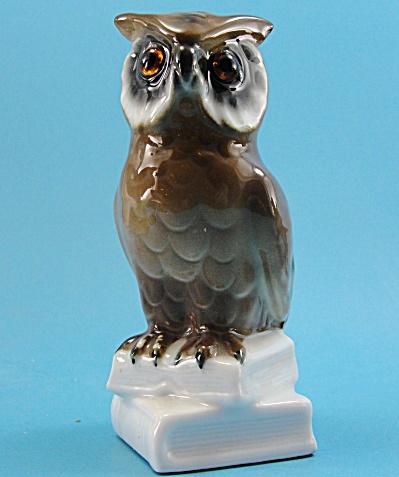 German Porcelain Owl Figurine (Image1)
