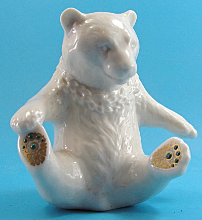 Lenox China Jewel Collection Playing Polar Bear (Image1)