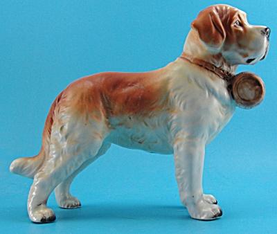 Lefton Japan Ceramic Saint Bernard Dog (Image1)