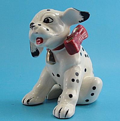 Japan Ceramic Dalmatian Puppy (Image1)