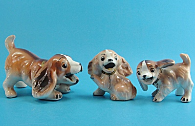 1960s Enesco Dog Family (Image1)