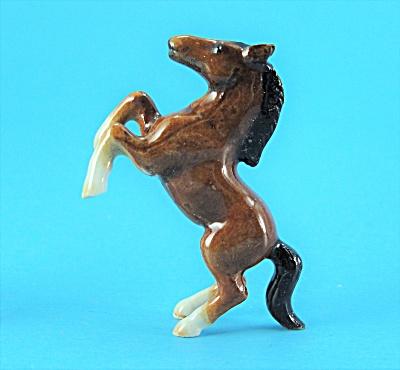 Klima Super Mini Porcelain Bay Rearing Horse (Image1)