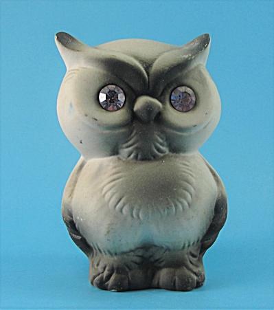 Roselane Pottery Sparkler Horned Owl (Image1)
