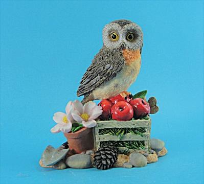 Hamilton Collection Barn Owl Harvest Splendor (Image1)