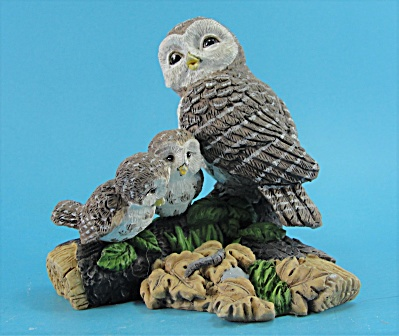 Hamilton Collection Owl Family Mothers Guidance