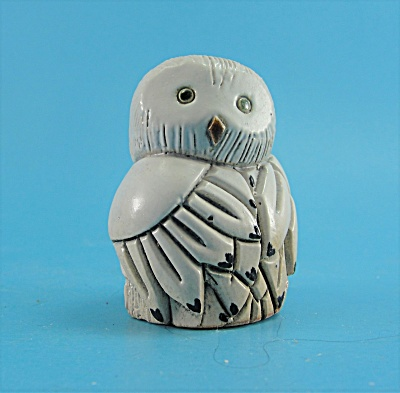 Artesania Rinconada Pottery Baby Owl (Image1)