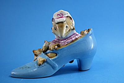 Beswick Beatrix Potter Old Woman Who Lived In A Shoe
