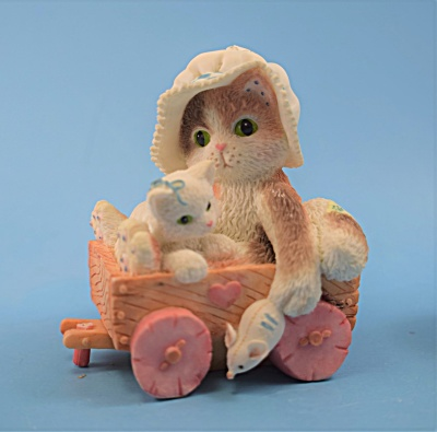 P. Hillman Enesco Wag on our Tails for you Calico Kitte (Image1)