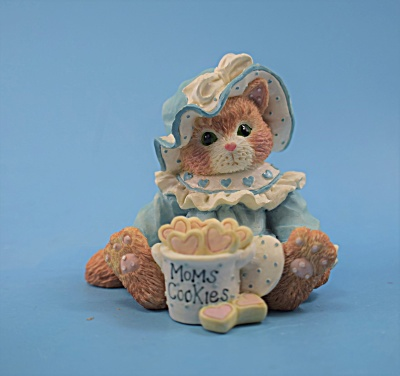P. Hillman Enesco Cat w/Cookie Jar Calico Kitten  (Image1)