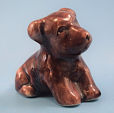 1940s Pottery Sitting Dog Kindell Possibly (Image1)