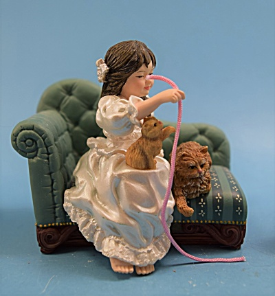 Girl w/Cats on Couch  (Image1)