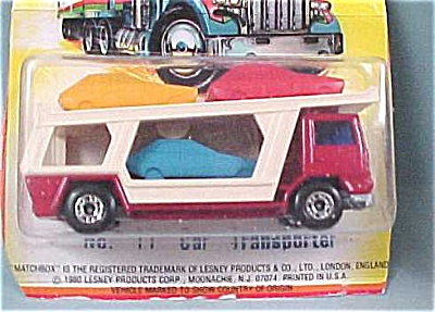 Matchbox #11 Car Transporter (Image1)
