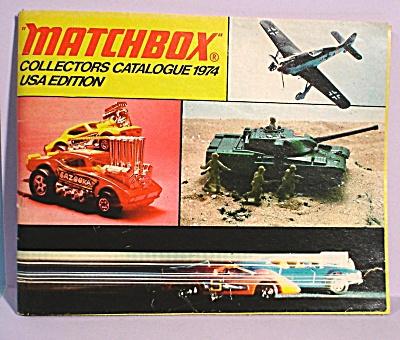 1974 Matchbox Collector's Catalog (Image1)